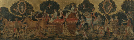 Cassone panel - Triumph of Chastity