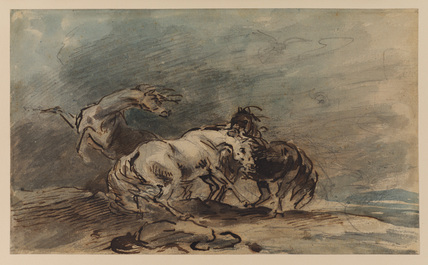 Study of frightened horses