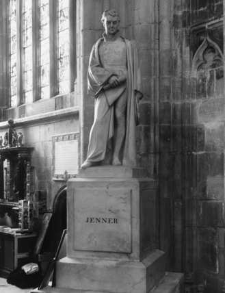 Gloucester Cathedral;Cathedral Church;Statue of Edward Jenner
