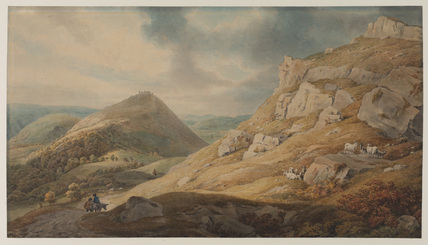 The Vale of Llangollen, with Castell Dinas Bran