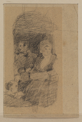 Sketch for 'The Village Festival' (Tate Gallery) (recto)