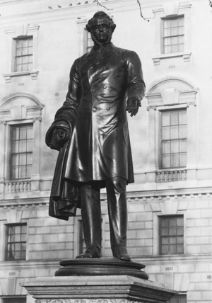 Statue of Viscount Palmerston