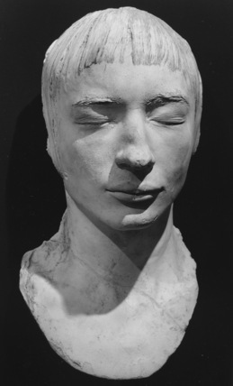 Cast of the head of Louis Steinheil, from life