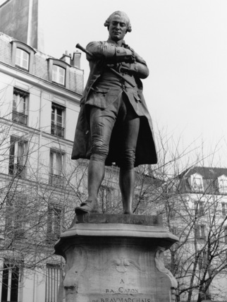 Statue of Beaumarchais