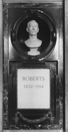 St Paul's Cathedral;Memorial to Field Marshal Earl Roberts