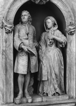 Monument to James Cooper and his wife