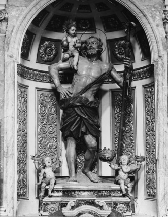 Statue of Saint Christopher