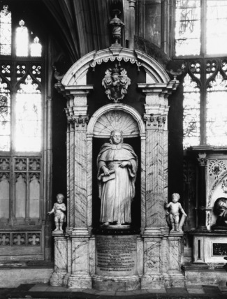Gloucester Cathedral;Cathedral Church;Monument to Sir John Powell