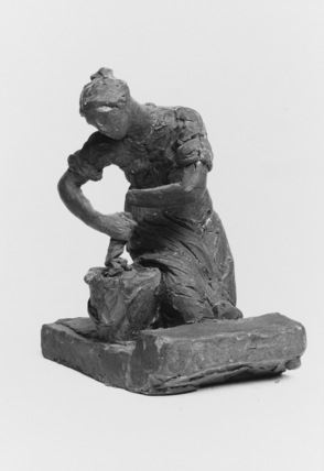 Sketch model for a sculpture of a Housemaid