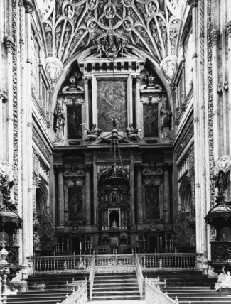 Cordoba Cathedral;Capilla Mayor