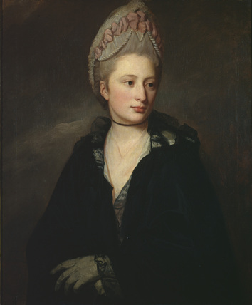Portrait of Georgiana, Lady Greville