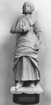 Statue of a Female Patient