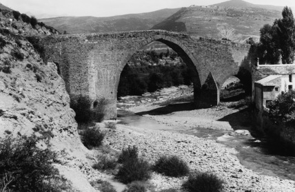 Medieval Bridge over the Aragon