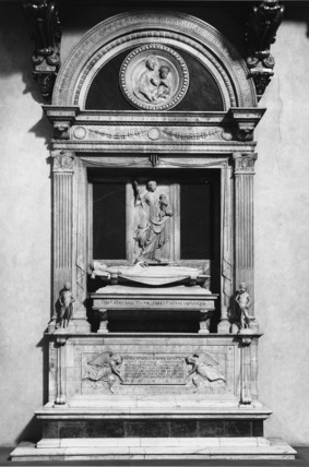 Badia  Fiorentina;Monument to Count Ugo