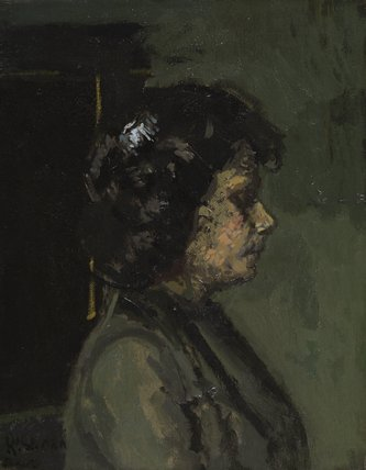 Portrait of Mrs Barrett
