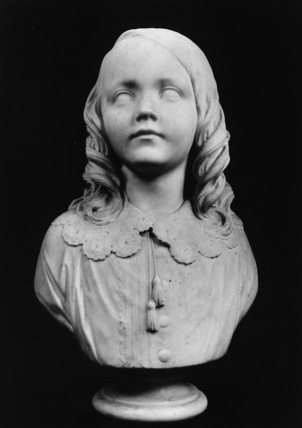 Portrait bust of Kenneth Matheson