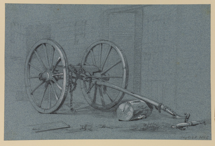 Two-wheeled cart