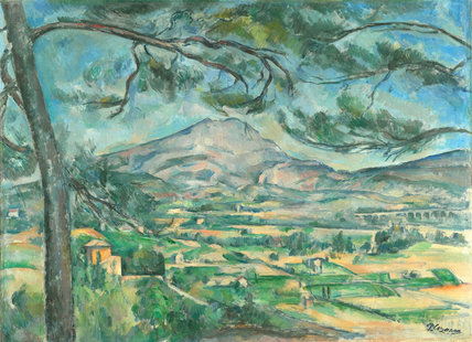 Montagne Sainte-Victoire with Large Pine