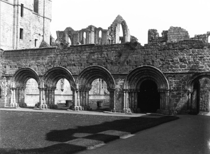 Fountains Abbey;Chapter House