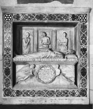 Santa Trinita;Tomb of Bishop Benozzo Federighi