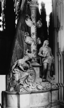 Westminster Abbey;Abbey Church;Monument to General Monck, Duke of Albemarle