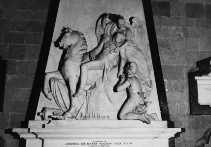 Worcester Cathedral;Cathedral Church;Monument to Sir Henry Ellis