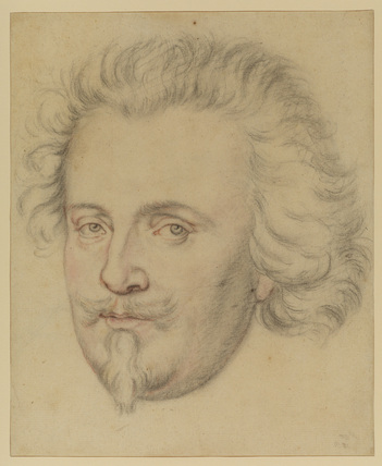 Portrait head of a man