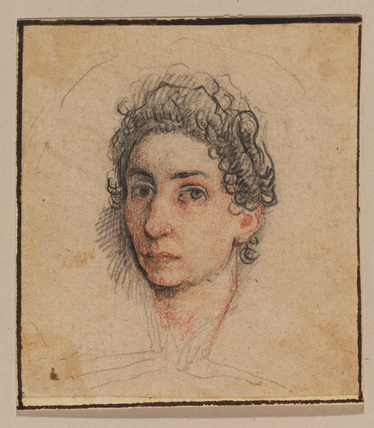 Head of a woman - portrait of Lavinia Fontana (?)