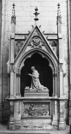 Tomb of Archbishop Bouvier