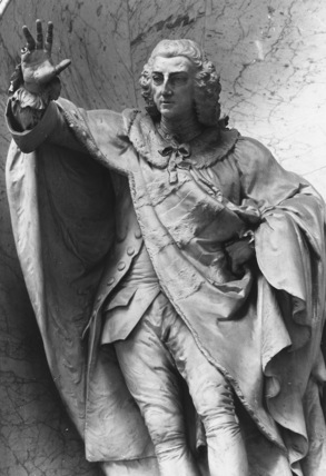 Westminster Abbey;Abbey Church;Monument to William Pitt Earl of Chatham by Bacon, John I at The Courtauld Institute