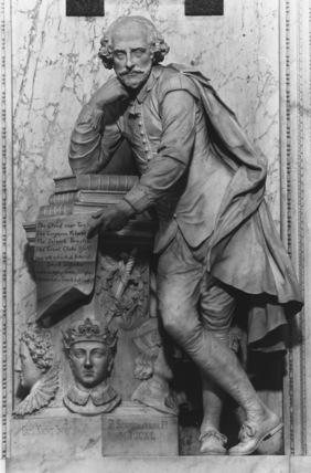 Westminster Abbey;Abbey Church;Monument to William Shakespeare