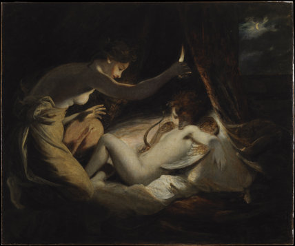 cupid and psyche by reynolds joshua at the courtauld institute