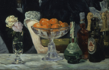 A Bar at the Folies-Bergere (detail)