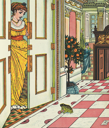 Frog at the Princess's Door, The