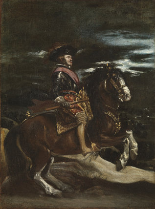 Portrait of Philip IV on horseback