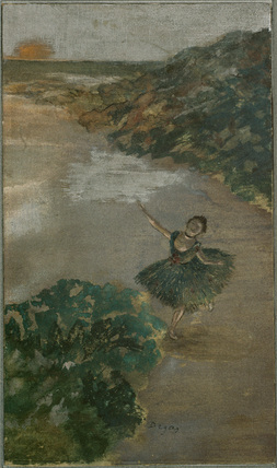 Dancer on a stage