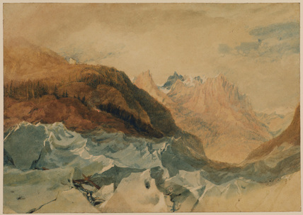 Mer de Glace, Chamonix, with Blair's Hut