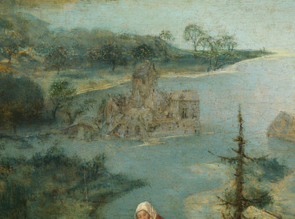 Landscape with the Flight into Egypt (detail)