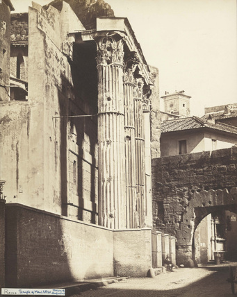 The Imperial Fora;Temple of Mars Ultor