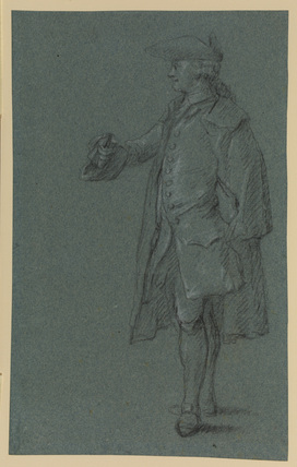 Standing figure of a man