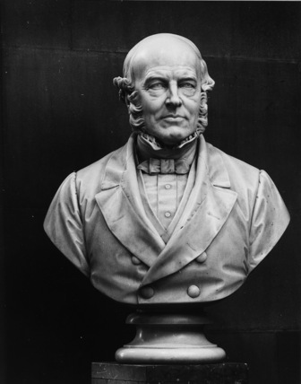 Bust of Sir Rowland Hill