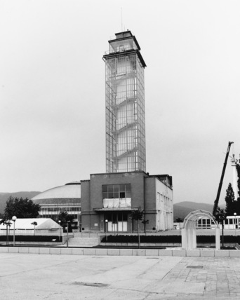 Exhibition Site;Glass Tower Complex for the 1928 Exhibition of Contemporary Culture
