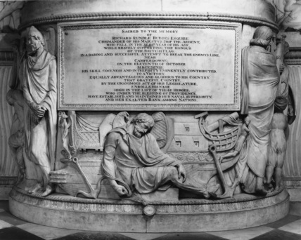 St Paul's Cathedral;Monument to Richard Rundle Burges