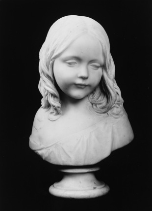 Portrait bust of Mary Matheson