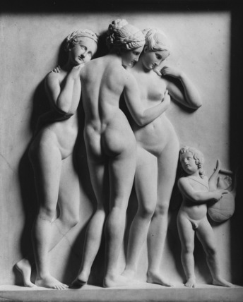 The Three Graces Listening to Cupid's Song