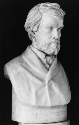 Bust of Thomas Carlyle