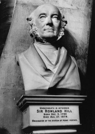 Westminster Abbey;Abbey Church;Monument to Sir Rowland Hill