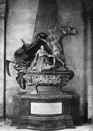 Saint Sulpice;Monument to Languet de Gergy