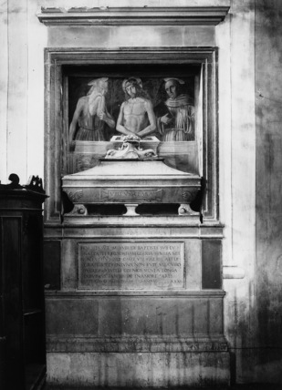 Tomb of the wife of Pietro Tiranni