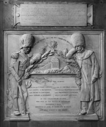 St Paul's Cathedral;Coldstream Guards Memorial Commemorating the Battle of Inkermann